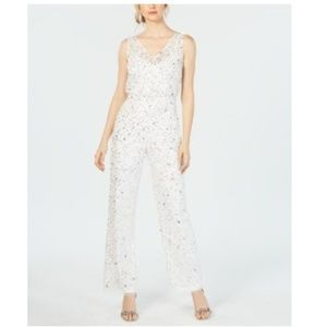Adrianna Papell Crunchy Jumpsuit